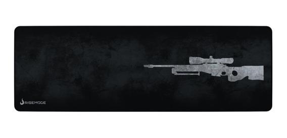 Mousepad Rise Mode Gamer Sniper Grey E - Costu Rg-mp-06-snpg