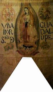 Lienzo Tela Canvas Estandarte De Miguel Hidalgo Y Costilla