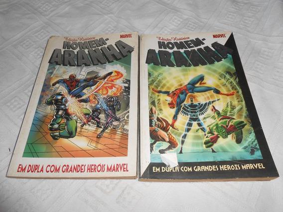 Hq Edição Histórica Aranha Com Grandes Heróis Marvel.