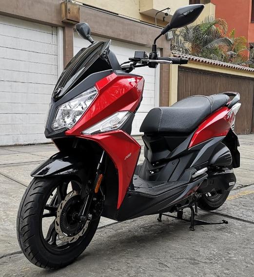 Moto Scooter Sym Jet 14 Nueva Con 174km Oferta!!!