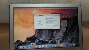 Note Apple I7 Macbook Air 7,2 A1466 - Hd Ssd 500 Gb - Usado