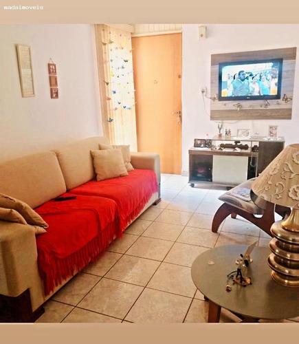 Imagem 1 de 6 de Apartamento Para Venda Em Mogi Das Cruzes, Jardim Maricá, 2 Dormitórios, 1 Banheiro, 1 Vaga - 3105_2-1187116