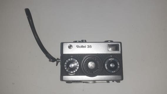 Câmera Rollei 35 Original Funcionando Em Bom Estado