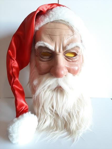 Papa Noel Mascara Latex Navidad Disfraz San Nicolas Cosplay