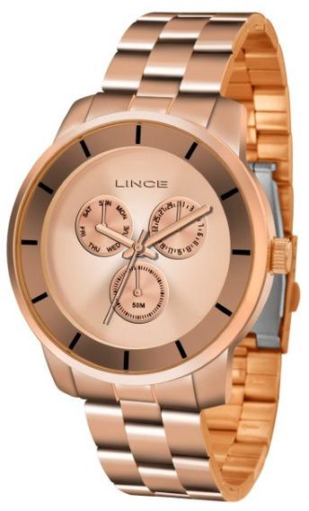 Relógio Lince Feminino Rose 34752