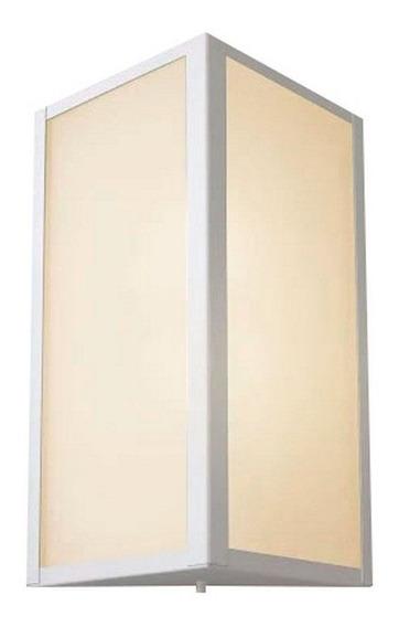 Luminaria Arandela Parede Externa Alumínio 285 Branca