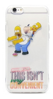 Capa Protetora Tpu Iwill The Simpsons Bart iPhone 6 / 6s