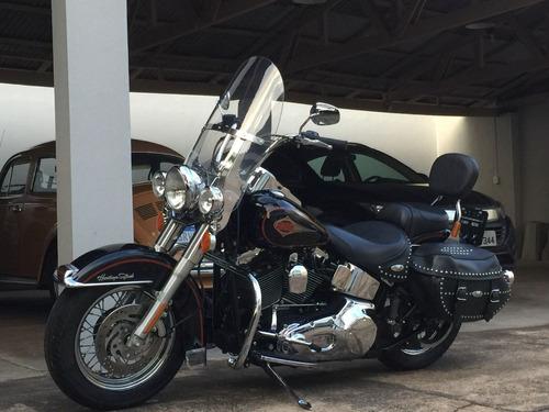 Imagem 1 de 5 de Harley Heritage Classic 2001 Carburada Segundo Dono