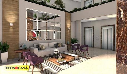 Excelente Apartamento Com 02 Dormitórios Para Venda Com  72m² No Bairro Campo Da  Aviação Em  Praia Grande/sp - Ap6587