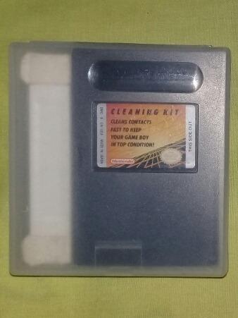 Cleaning Kit Nintendo Game Boy Gameboy Color