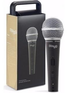 Microfono Dinamico Cardioide Cable 5 M Estuche Stagg Sdm50