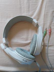 Headphones Com Microfone Lupuss (fone De Ouvido Com Fio)