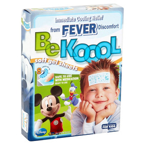 Be Koool Soft Gel - Alívio Febre / Vacina - Original