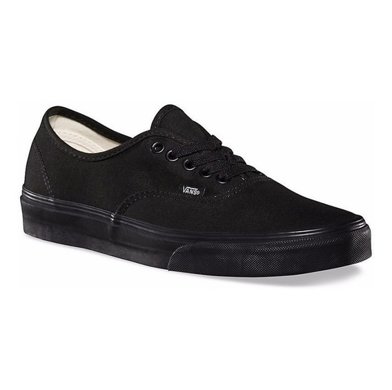 Zapatilla Vans Mod Authentic 100% Original Toda Negra