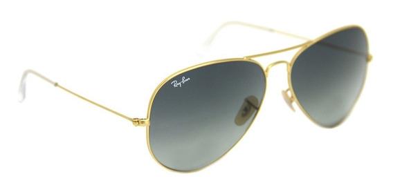 Óculos De Sol Ray Ban Aviador 3025 Tam. 62 Original