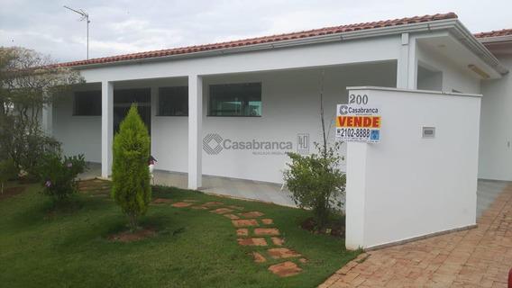Casa Residencial À Venda, Condomínio Portal Do Sabiá, Araçoiaba Da Serra - Ca5940. - Ca5940
