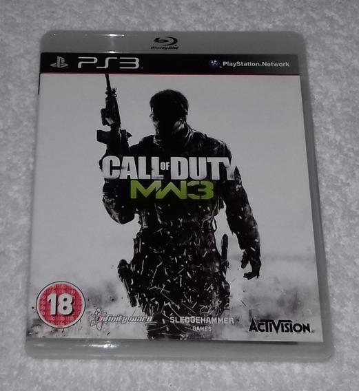 Call Of Duty Mw3 R2 Ps3 ** Leia Frete Gratis