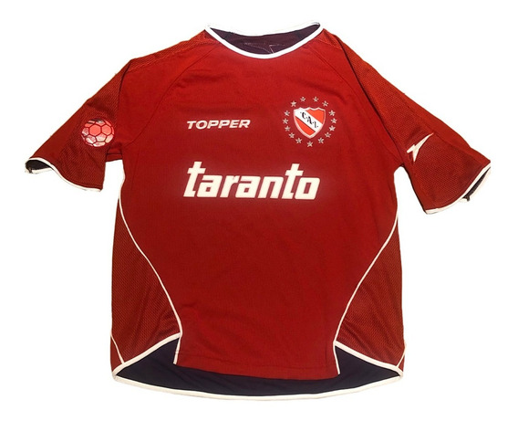 Camiseta De Independiente Topper Titular 2004 34 Aguero