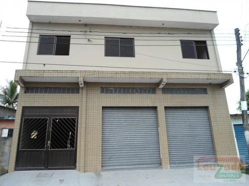 Comercial Para Venda Em Peruíbe, Caraguava, 4 Dormitórios, 2 Suítes, 1 Banheiro, 1 Vaga - 0272_2-226070