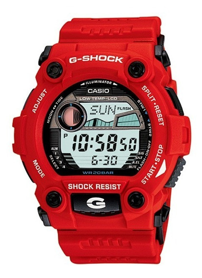 Relogio Casio G-shock G-7900-4dr Fases Lua Termo 200 Metros