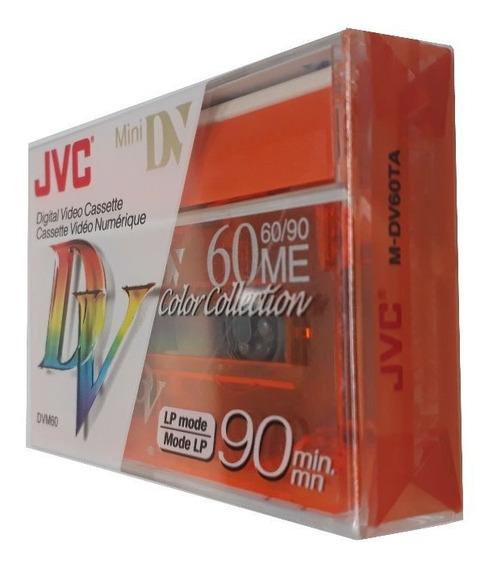 Fita De Video Mini Dv M-dv60 Jvc Original Com 5 Unidades