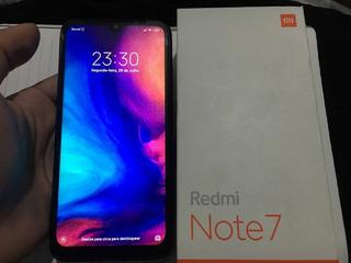 Smartphone Xiaomi Redmi 7 64gb Top De Linha Excelente Estado