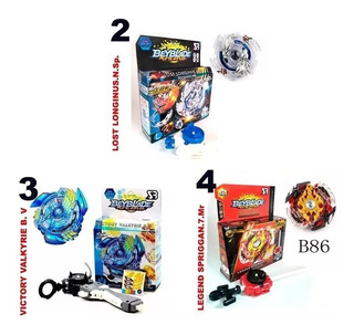 1 Beyblade Burst Gt Con Caja Turbo Evolution Trompo Varios