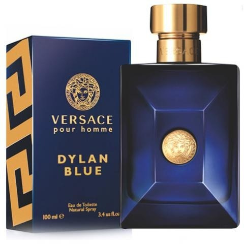Perfume Versace Pour Homme Dylan Blue Para Caballero 100 Ml