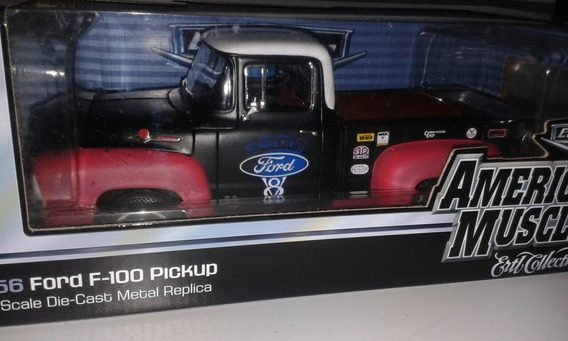 Miniatura Ford F-100 1956 Elite Edition Ertl 1/18