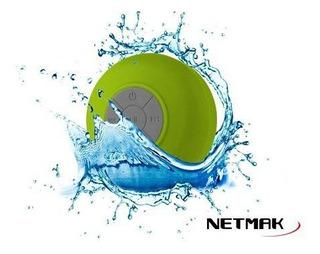 Netmak Parlante Portatil Bluetooth Sopapa Nm-splash Green