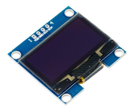 Display Oled 1.3 128x64 I2c Ssh1106 Arduino Pic Pi Mona
