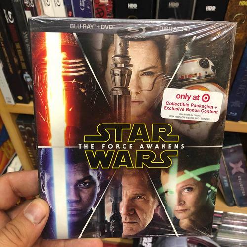 Blu Ray Star Wars The Force Awakens Cine 3d Mania Local