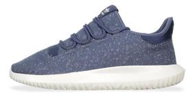 Tenis adidas Tubular Shadow - By3572 - Azul Acero - Hombre