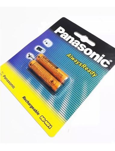 Imagen 1 de 1 de Pila Bateria Aaa Recargable Panasonic 1.2v 830mah Hhr-3mrt/2
