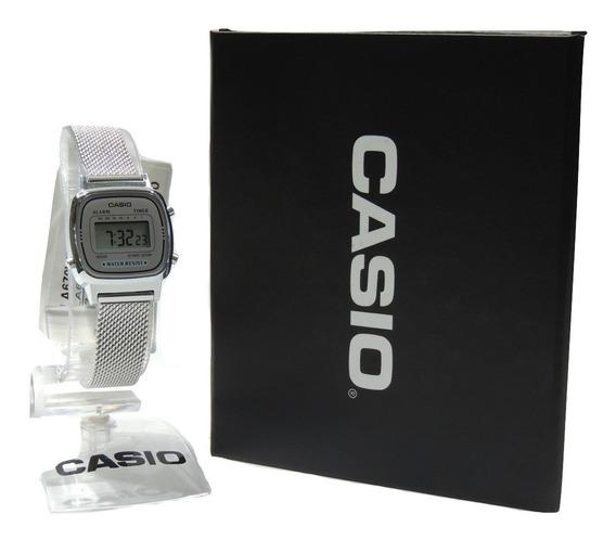 Relógio Casio Vintage Mini La670wem-7df - Nf E Garantia Casi