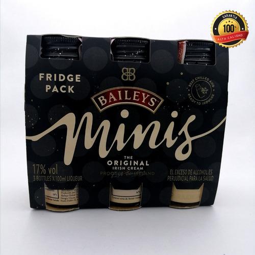 Tripack Mini Baileys Original - mL a $47