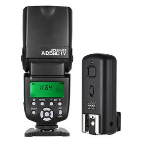 Andoer Ad560 Iv 2.4g Sem Fio Universal Em Camera Escravo