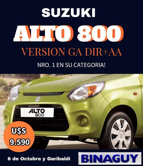 Suzuki Alto 800 / Diir. Y Aire Ac. / Permuto Y Financio!