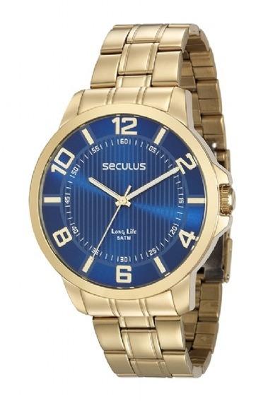 Relógio De Pulso Masculino Seculus Cód. 28893gpsvda2