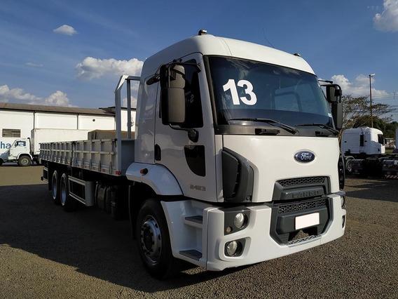 Ford Cargo 2423 6x2 2013 Carroceria Sb Veiculos
