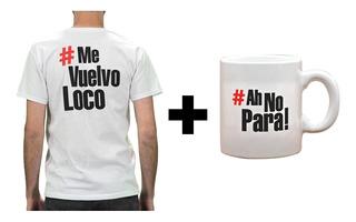 Descuento Taza + Remera El Chacal