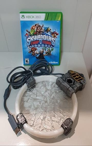 Kit Com Portal + Jogo Skylanders Trap Team Xbox360