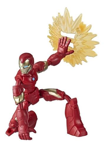 Imagem 1 de 2 de Boneco Marvel Avengers Bend And Flex Homem De Ferro Hasbro