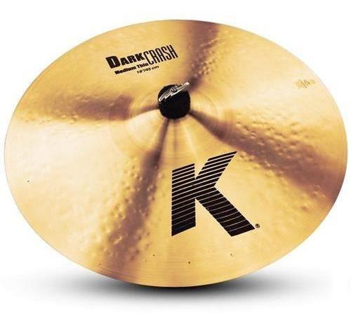 Platillo K Dark Medium Thin Crash 18  Zildjian K0915
