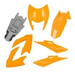 Kit Carenagem Nxr 150 Bros 2009/11 Preto