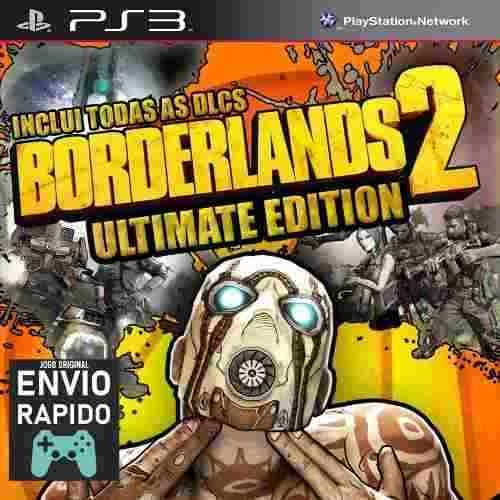 Borderlands 2 Ultimate + Todas As Dlcs - Jogos Ps3 Original
