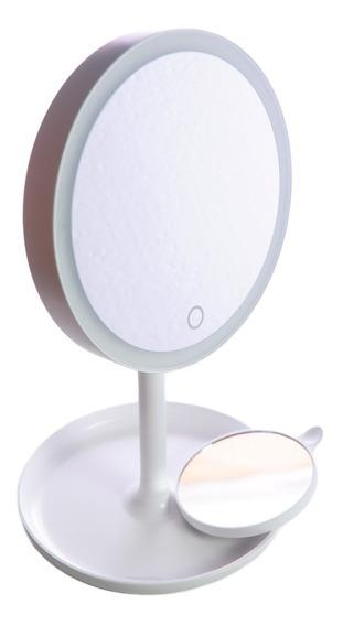 Espejo Maquillaje Con Aumento Luz Led 1x 5x Beurer - Rex