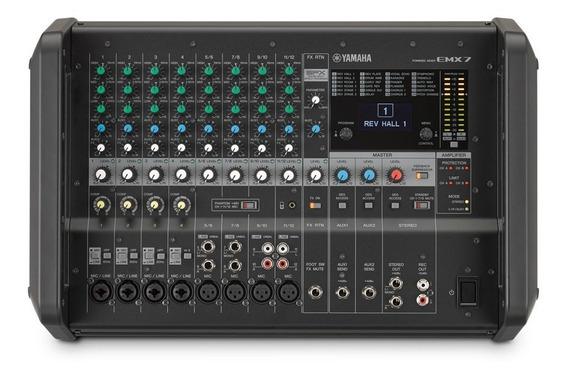 Mesa Amplificada Yamaha Emx7 | 2 X 710w | Original | Oferta!