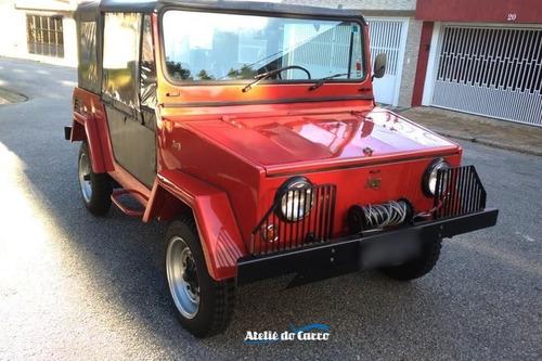 Jeep Jeg 1978 Mecânica Vw 1600 - Raríssimo! Ateliê Do Carro