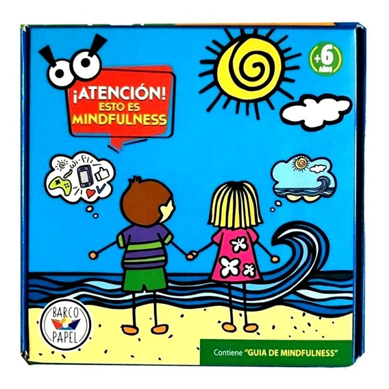 Juego Mesa Mindfulnes Familia Antiestres Respiración Emoción